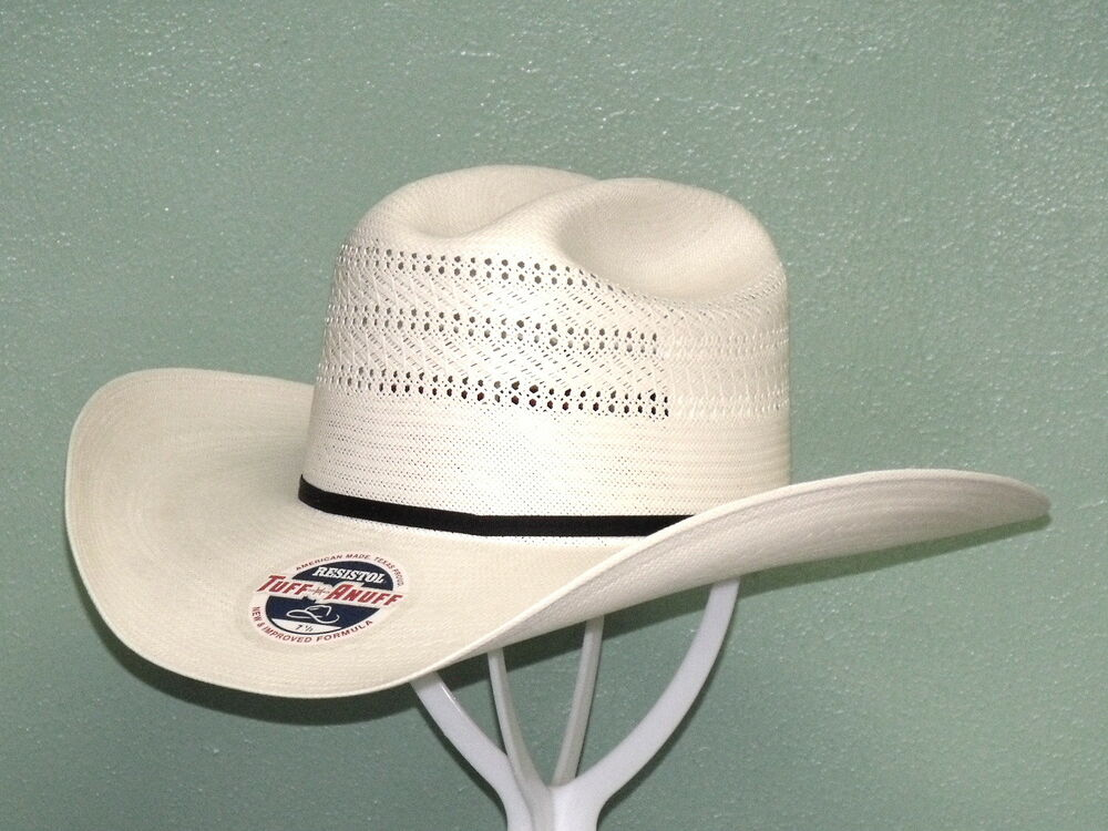 048c2a30306 Details about RESISTOL CHASE 20X SHANTUNG PANAMA STRAW COWBOY WESTERN HAT