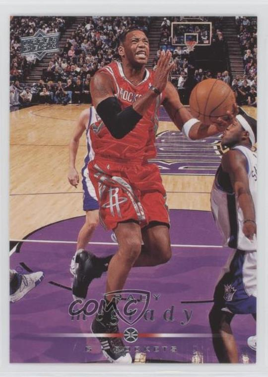 9ac9801db255 Details about 2008-09 Upper Deck  64 Tracy McGrady Houston Rockets  Basketball Card