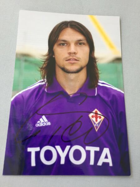 TOMAS UJFALUSI AC Florenz signed In-person Foto 10x15 Autogramm