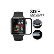 Apple Watch SERIES 2/3 42mm Full Edge Carbon Fiber Screen Protector (3D)