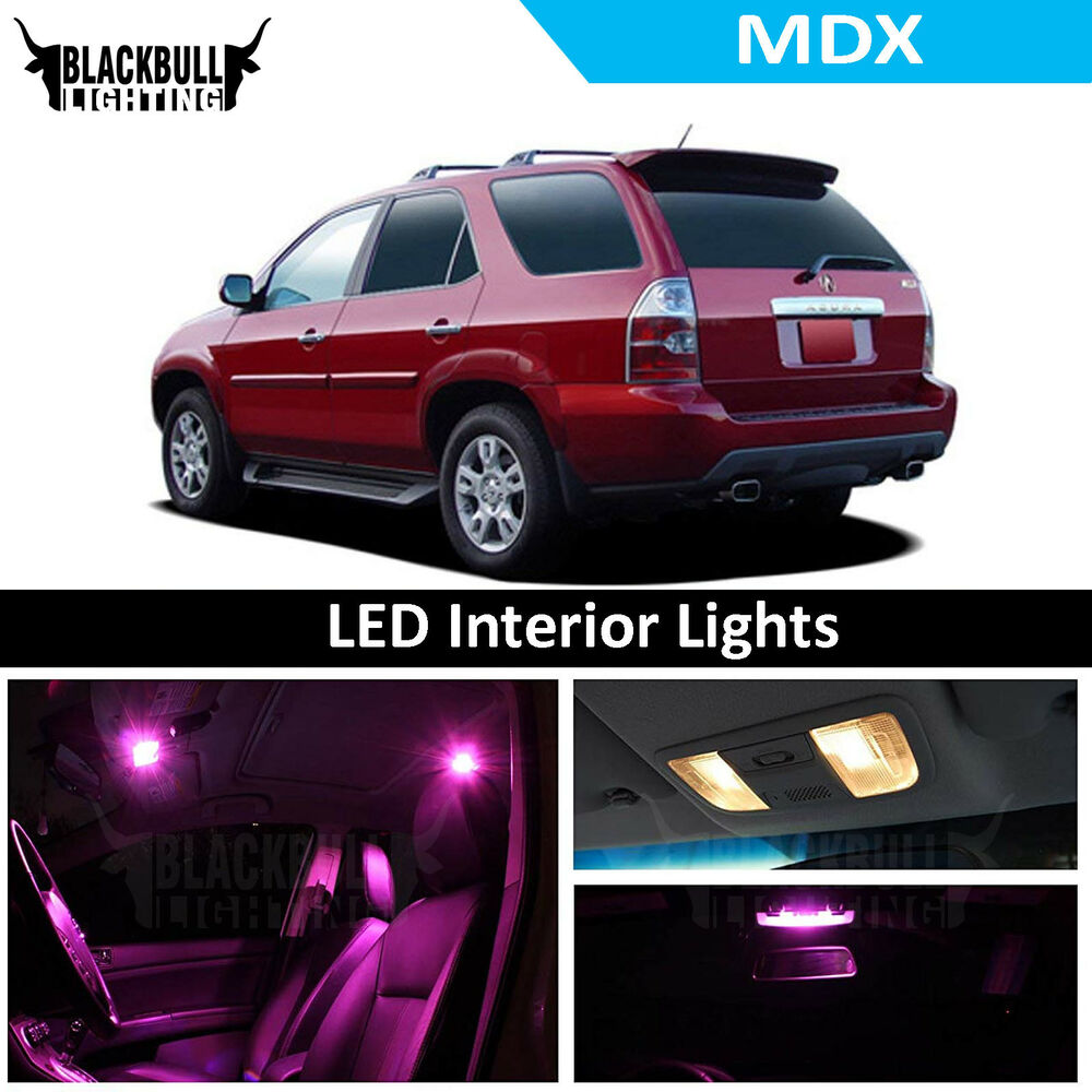 Pink LED Interior Lights Replacement Kit For 2001-2006