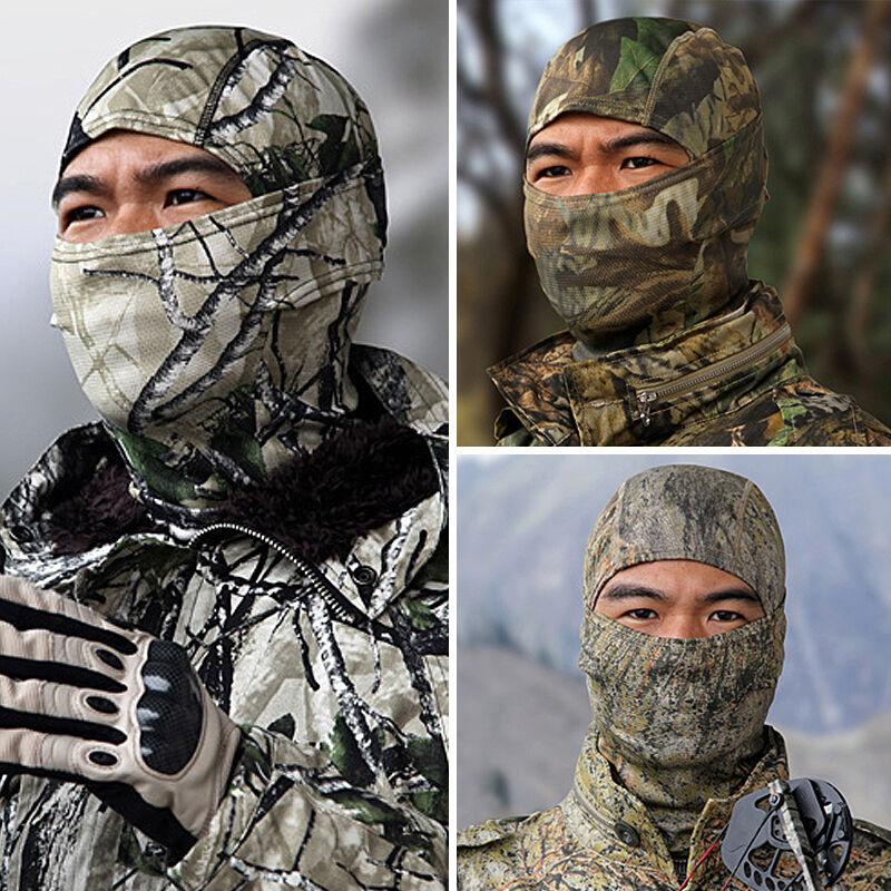 Back To Search Resultshome Army Tactical Training Hunting Airsoft Paintball Full Face Balaclava Mask New