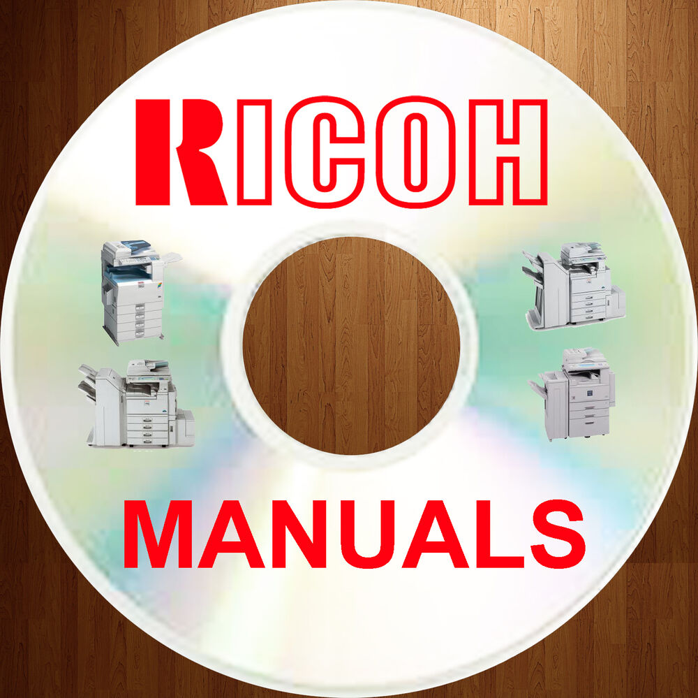 RICOH B/W Digital Copier SERVICE MANUALS & Illustrated PARTS CATALOGS Manual  DVD | eBay