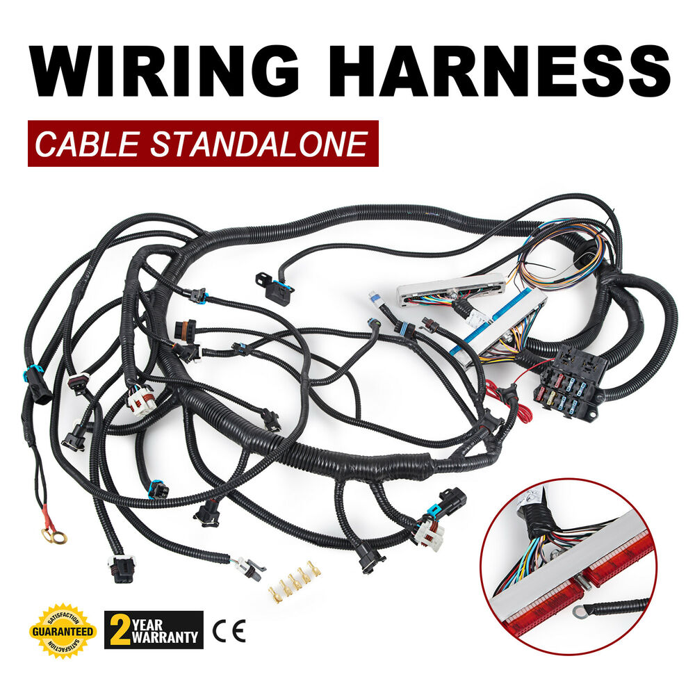set 97 02 dbc ls1 standalone wiring harness with t56 non. Black Bedroom Furniture Sets. Home Design Ideas