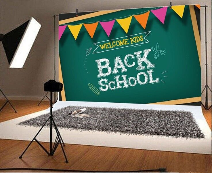 back to school 7x5ft party photography background vinyl photo