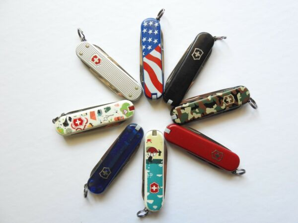 Victorinox Swiss Army Knife 3 Tool (Various Logo/Colors) - Ships in 12 hours!!!