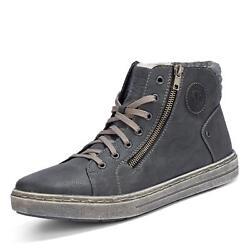 Rieker Herren Sneakerboots Sneaker Stiefeletten Boots Stiefel Schuhe anthrazit