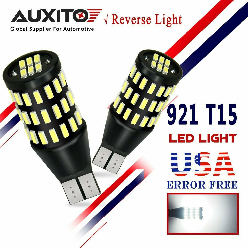 AUXITO 2x T15 Backup Reverse Light CANBUS W16W 192 921 912