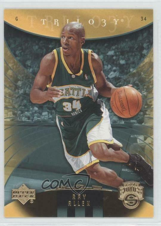 41cd6955f28c Details about 2005-06 Upper Deck Trilogy  79 Ray Allen Seattle Supersonics  Basketball Card