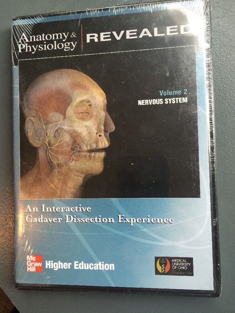 Mcgraw Hill /Anatomy & Physiology Revealed vol 2 Nervous System Pc ...
