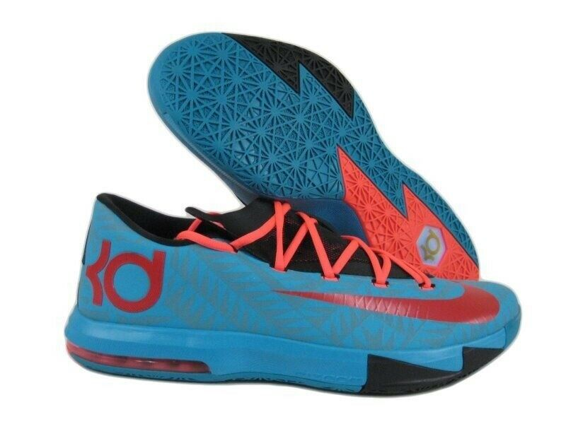 379ac44ac966 Details about 2013 Nike KD VI 6 N7 Dark Turquoise Red-Black-Atomic Red SZ  15 626368-466 NEW