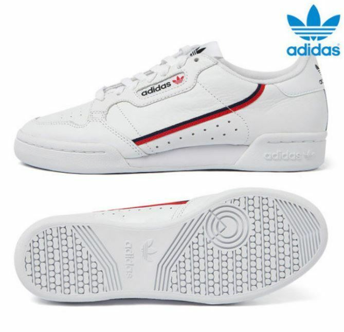 5a34516a3361 Details about Adidas Originals Continental 80 s White Fashion  Sneakers