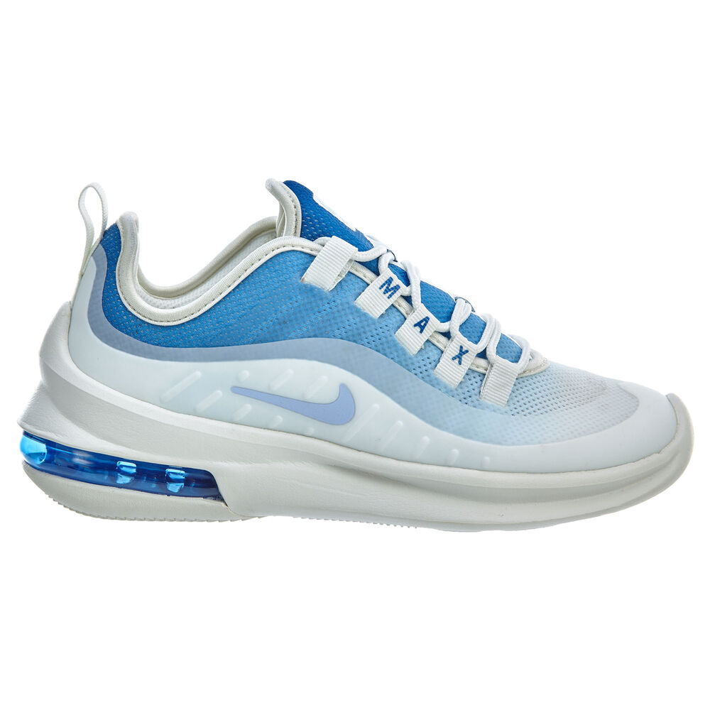 premium selection b072a 2eff6 Details about Nike Air Max Axis SE Womens AA2167-101 Mountain Blue White  Running Shoes Size 5