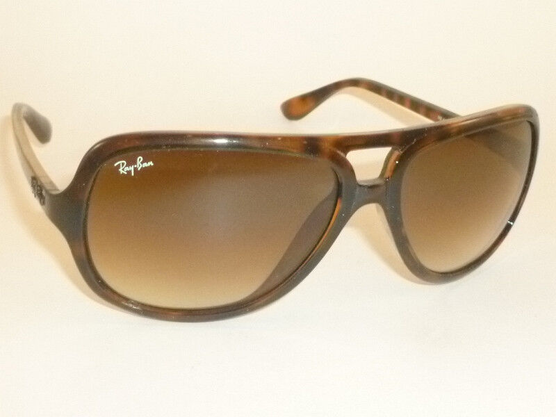 3ae44ebb69b Details about New RAY BAN Sunglasses Tortoise Frame RB 4162 710 51 Gradient  Brown Lenses