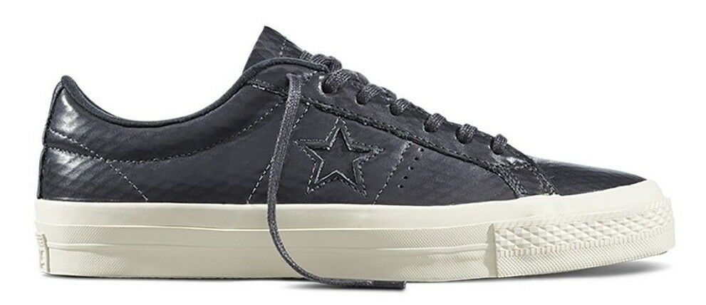 95df6965820f Details about Converse One Star Low Top Oxford SHOES SIZE MENS 10  90 153705C  ALMOST BLACK