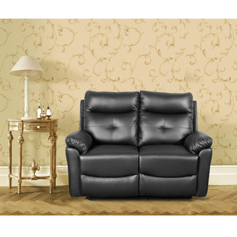 Leather Sofa Sets Settee Recliner Chair Soft Sofa Set