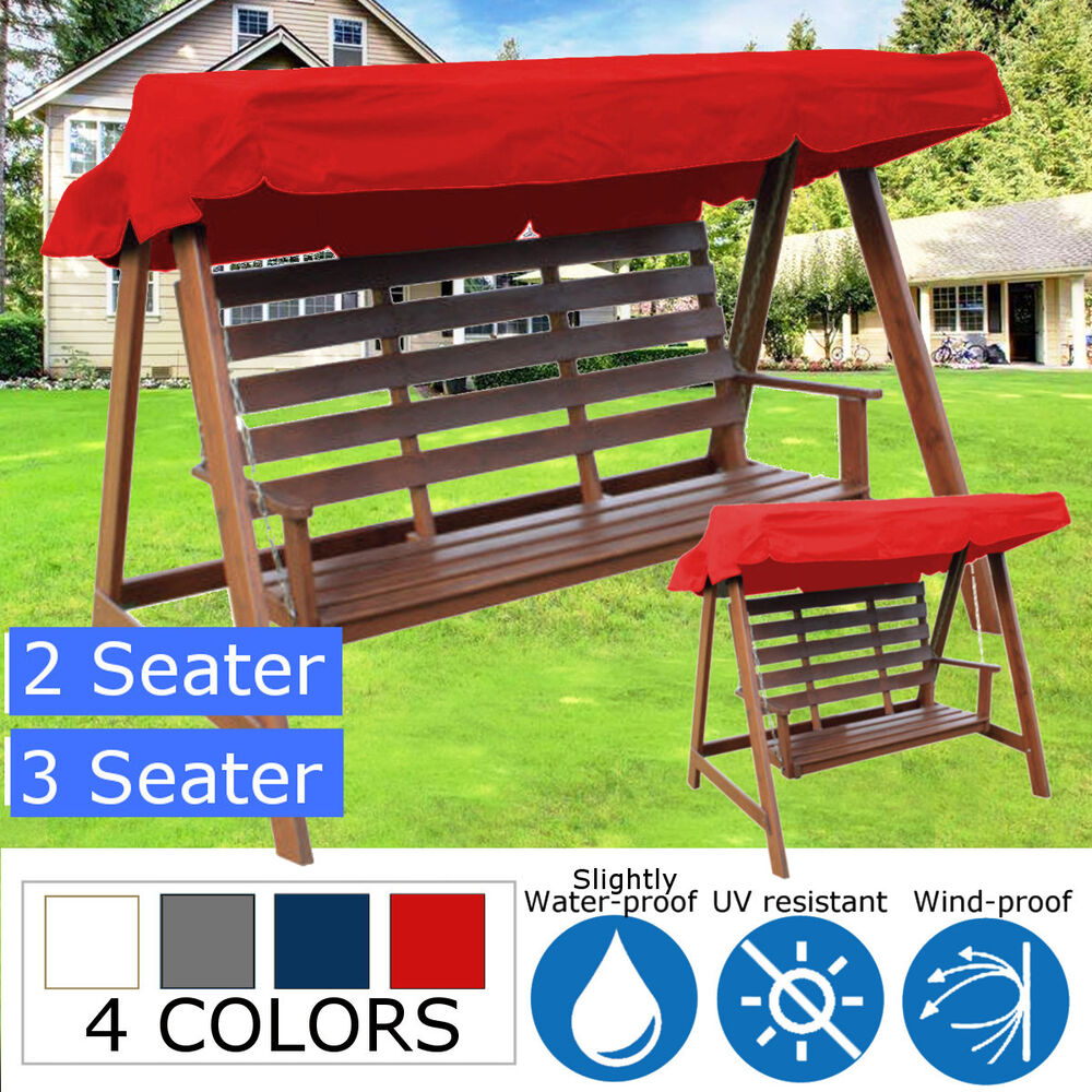 2 3 Seater Garden Swing Chair Replacement Patio Canopy Spare