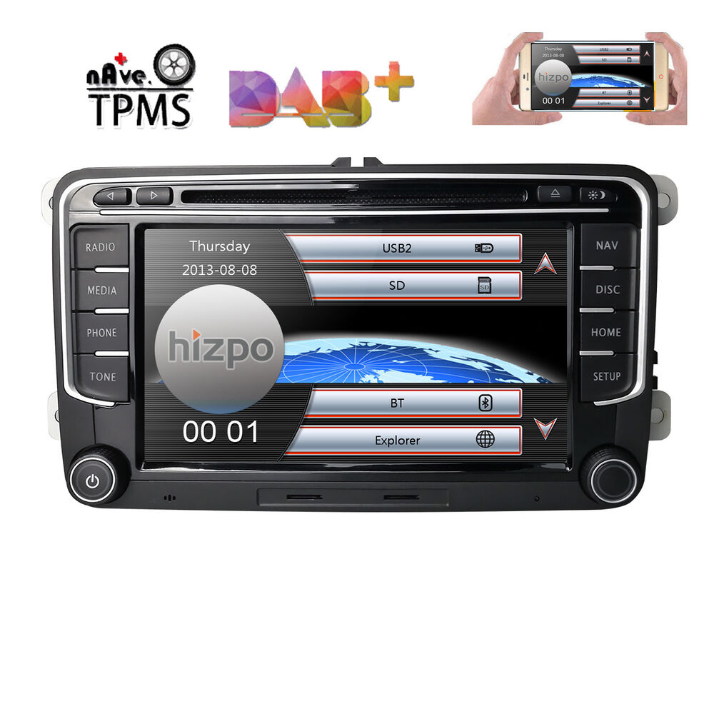 for vw volkswagen jetta passat dab car gps stereo cd dvd. Black Bedroom Furniture Sets. Home Design Ideas