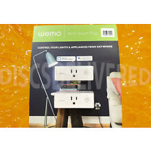 NEW Wemo Mini Smart Plug 2-pack
