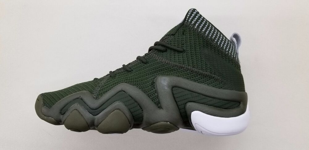 meet 622a7 4c222 Details about ADIDAS CRAZY 8 ADV PK OLIVE CARGO GREEN WHITE KOBE BRYANT  MENS SNEAKERS BY3604