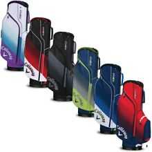 NEW Callaway Golf 2018 Chev Cart / Carry Bag 14-way Top - You Choose the Color!