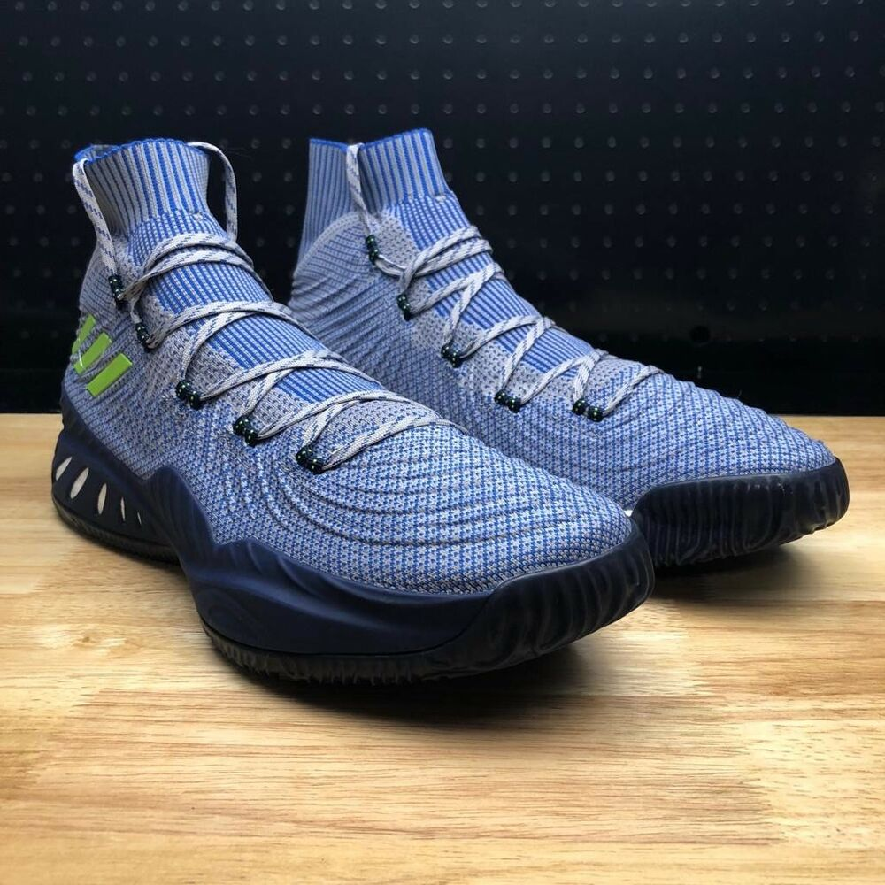 new style db6fb 575fb Details about Adidas Crazy Explosive 2017 Men s Sz 16 PK Andrew Wiggins PE  AH2194 Sample Blue