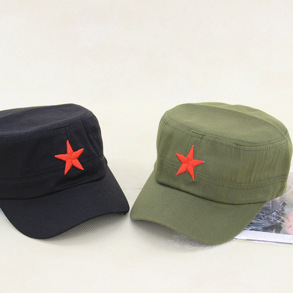 Details about Men Women Military Hat Army Cadet Patrol Cap Driving Summer  Baseball Hats New 281d029919