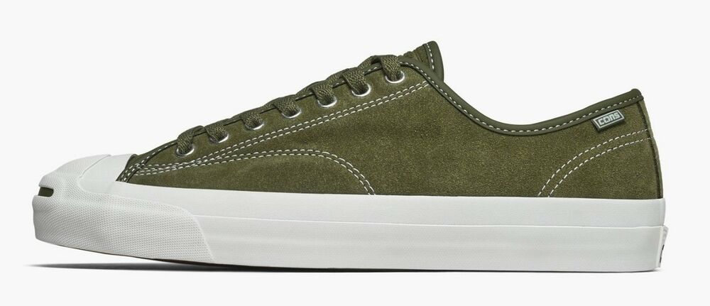 0cc9b5e16b4e Details about CONVERSE JACK PURCELL PRO OX SUEDE SKATE SHOES SIZE 10.5 NEW  161522C