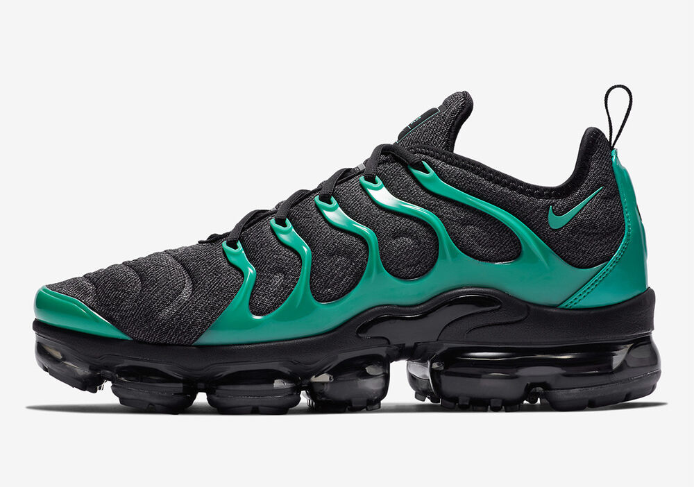 48e916913f Details about Nike Air Vapormax Plus Eagles Black Clear Emerald Green Cool  Grey 924453-013