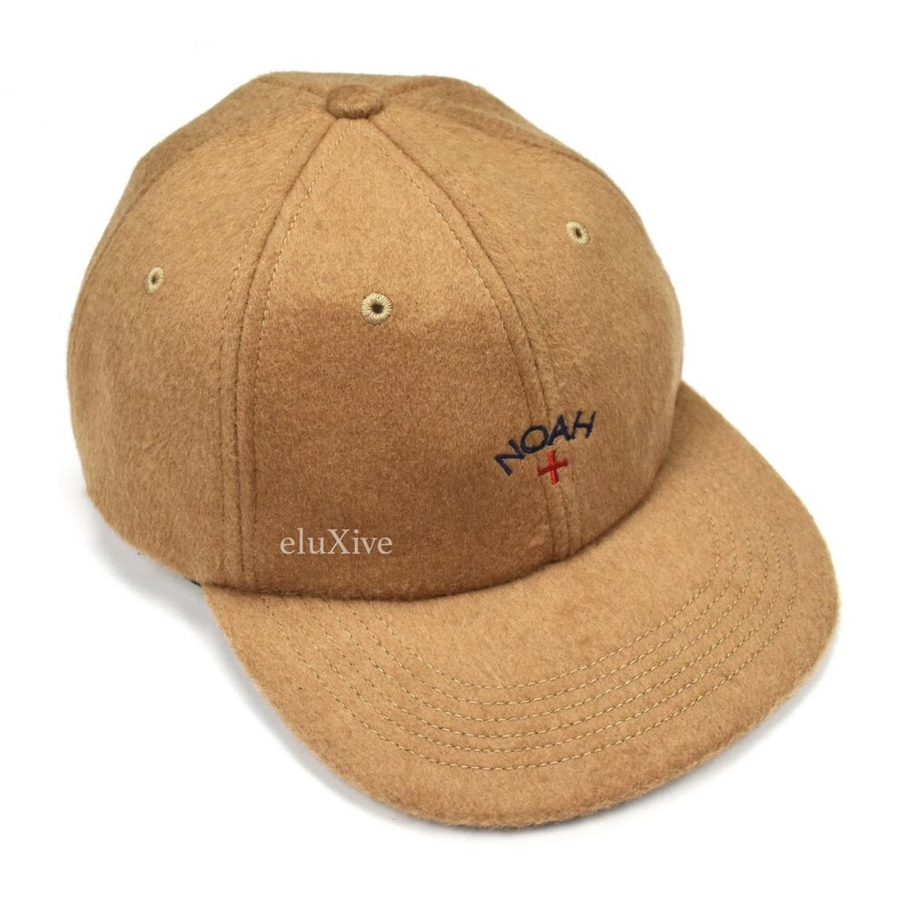 Details about NWT Noah NY Mr Porter Men s Baby Camel Hair Tan Wool Core  Logo Hat Cap AUTHENTIC cf1552d066e