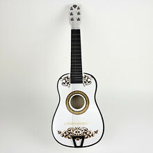 Coco Guitar White Guitar Day of The Dead Guitarra de Coco