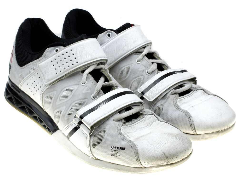 Details about Reebok CrossFit Lifter 2.0 Plus Women s Size 10 White Black OLYMPIC  LIFTING SHOE 4bab06049