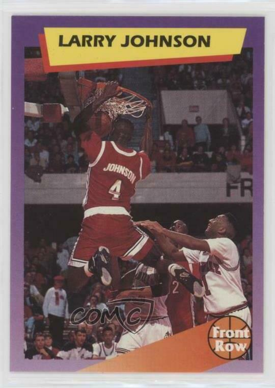 Details About 1991 Front Row Dream Picks 5 Larry Johnson UNLV Runnin Rebels Basketball Card
