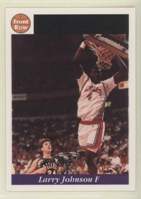 Details About 1991 92 Front Row Limited Edition Draft 1 Larry Johnson UNLV Runnin Rebels Card