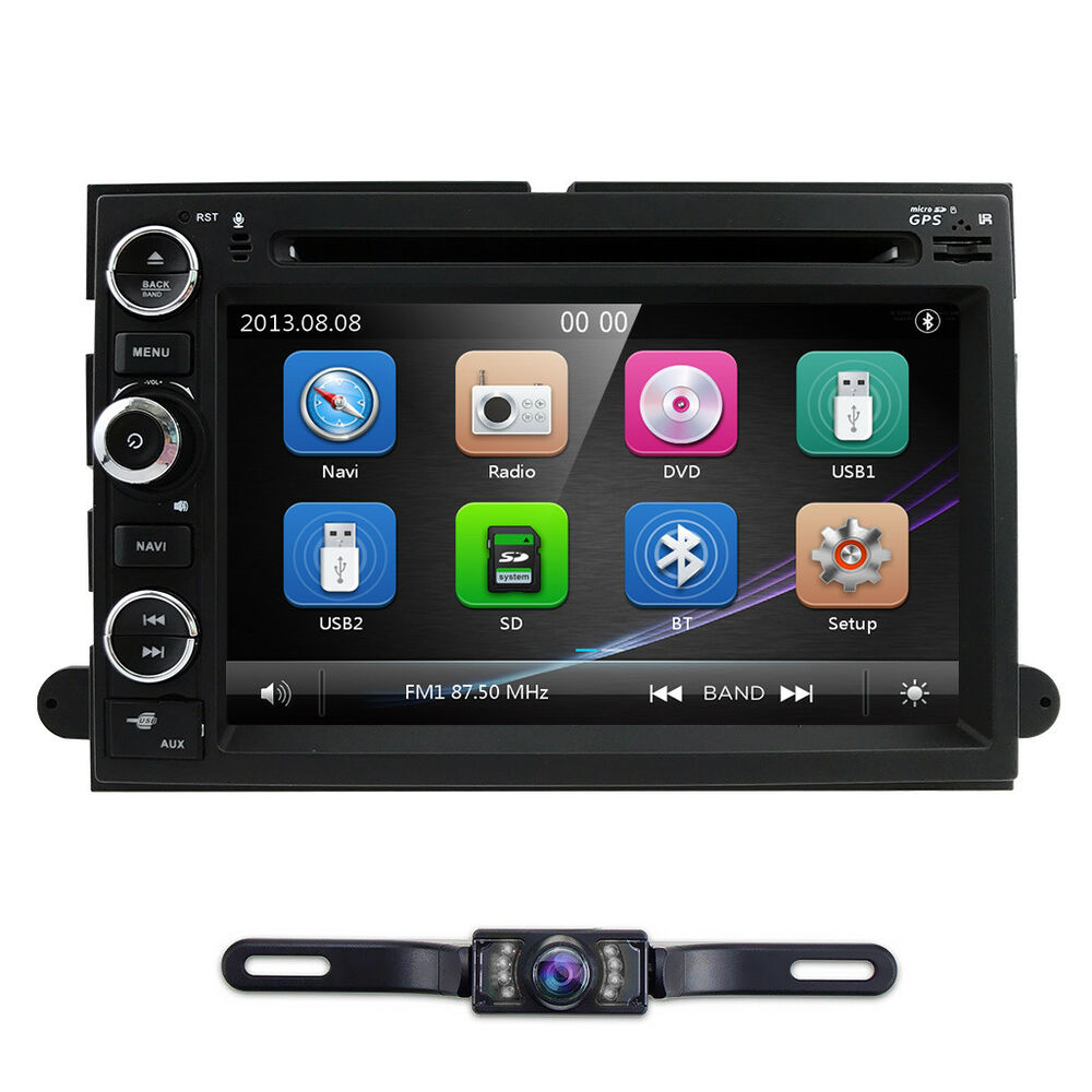 Car Stereo Dvd Gps Indash For Ford 500 F150 F