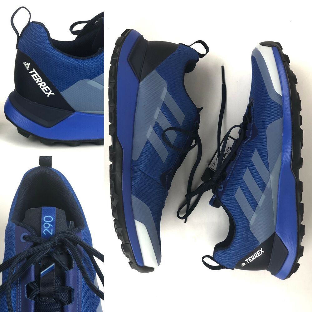 sports shoes 8589a 870be Details about Adidas Mens Terrex CMTK Trail Running Shoes Trainers Sneakers  Blue Sports 11.5