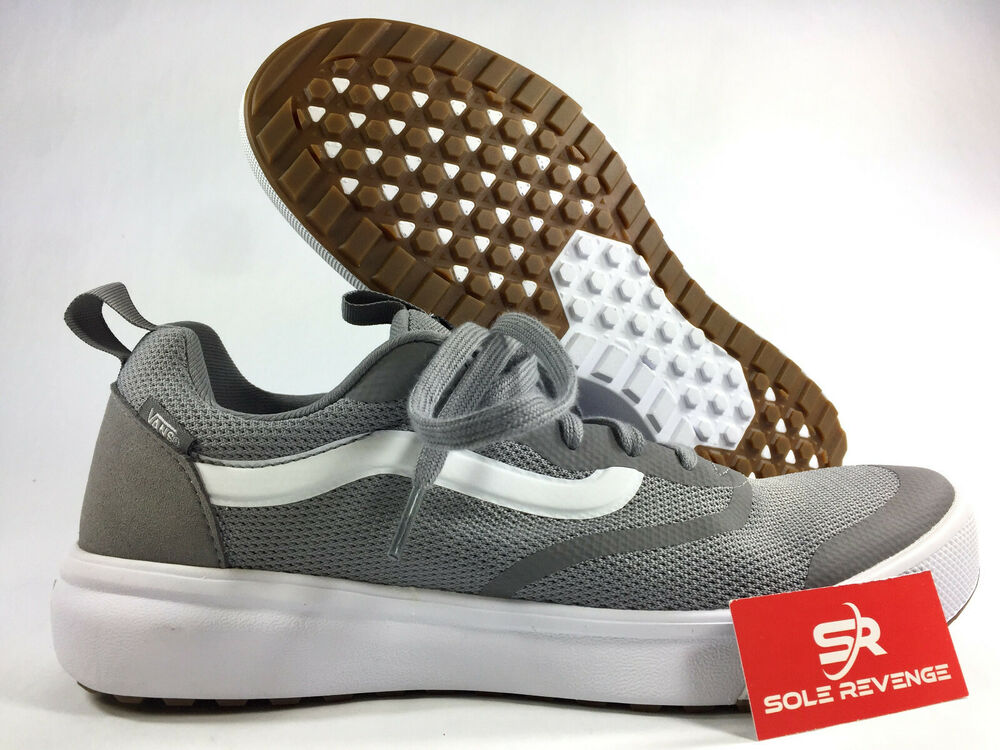 2e93fa5f638 Details about New 9 Vans Ultrarange Rapidweld Mens Frost Grey Casual Shoes  Sneakers A3DOT85T