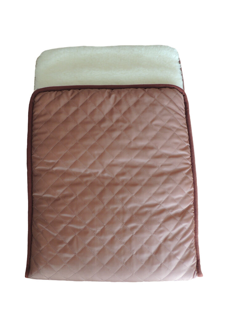 100/% Natural Pure Merino Wool ~ Quilted Cover Baby Snuggler Sleeping Bag Warmer