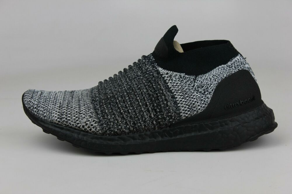 4c37275a1f51c Details about ADIDAS ORIGINALS ULTRABOOST LACELESS BLACK WHITE MEN BB6137  NEW DS ULTRA BOOST