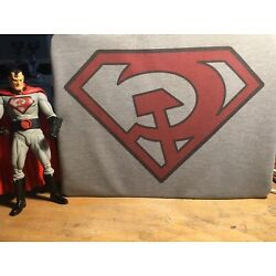 Red Son Superman Inspired Cosplay T-Shirt - Soviet Super Man Tee by Rev-Level