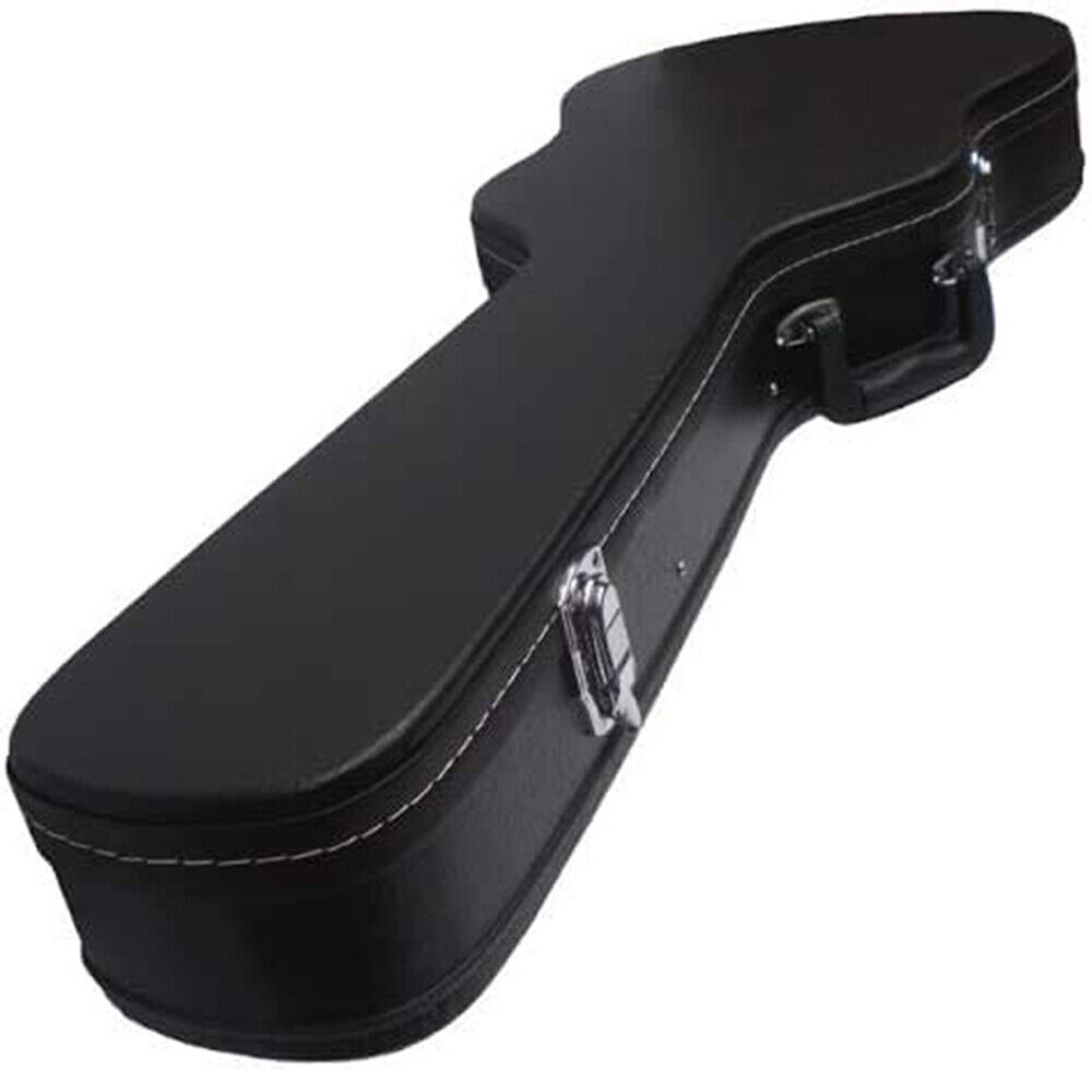 hardcase electric guitar hard case gibson sg shape fully padded lined case ebay. Black Bedroom Furniture Sets. Home Design Ideas