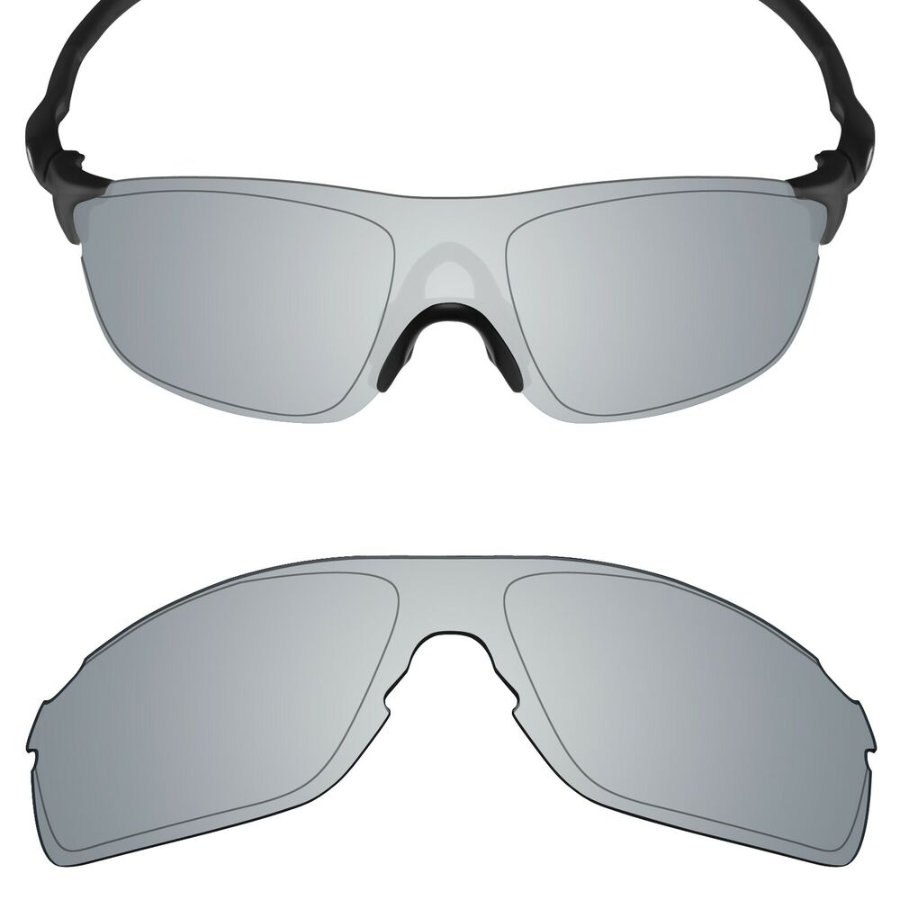b85b26471a Details about Mryok Anti-Scratch Polarized Replacement Lens for-Oakley  EVZero Pitch Silver