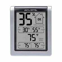 Free Shipping !!AcuRite 00613 Humidity Monitor with Indoor Thermometer