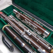 Beautiful Fox 201 Professional Wood Bassoon-Gorgeous Condition+New Pads & Case!