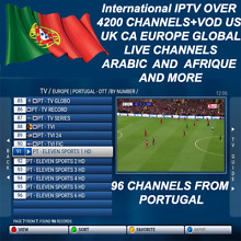 24 hours International Iptv Subscription Over 4200 Ch+Vod Android MAG M3U