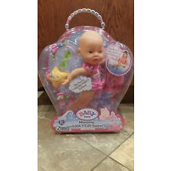 NEW Zapf Creations Baby Born GIRL Mommy Look I Can Swim Doll Swimming