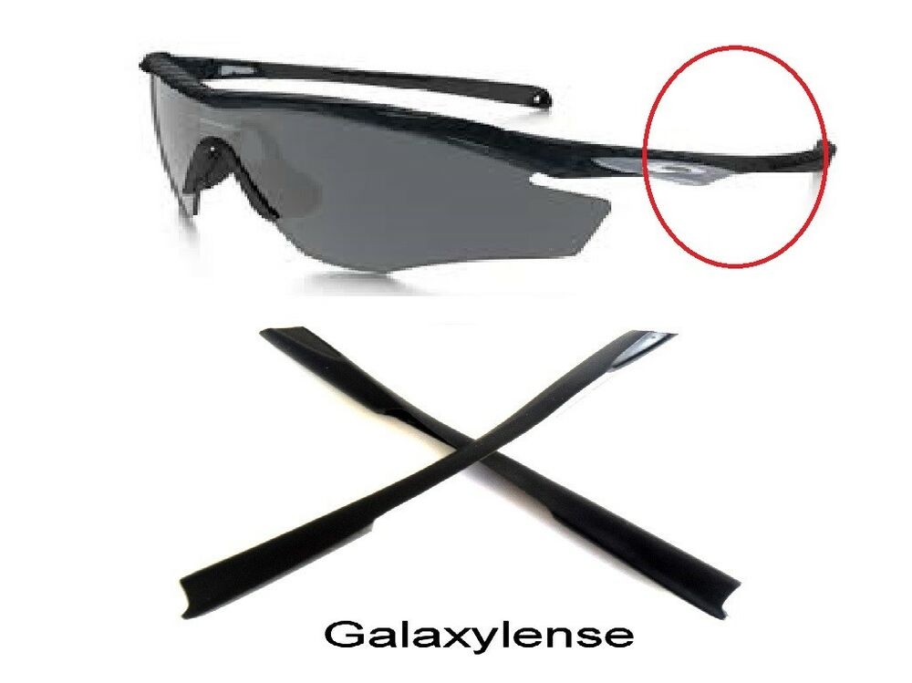 d2a5c151b73 Details about Galaxy Replacement Ear Socks Rubber Kits For Oakley M2 Frame  XL Sunglasses Black