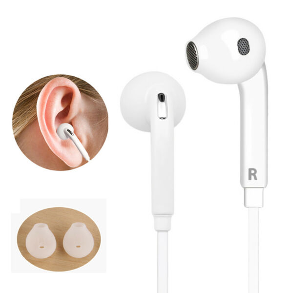 In-ear Stereo Earphone Earbuds Bass Headphone Sport Headset With Mic For Samsung