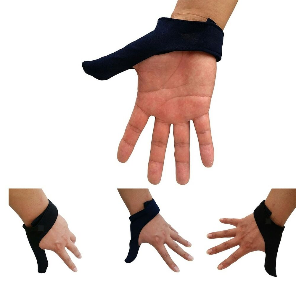 Details about Sports Bowling Thumb Saver Finger Grip Protector Glove for  Right & Left Hand