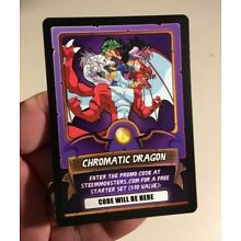2018 Steem Monsters Promo Card Steemit Bitcoin Cryptocurrency Chromatic Dragon